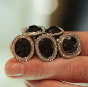 Anne Sportun Black Diamond Rings