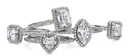 Fancy Shape Diamond Engagement Rings