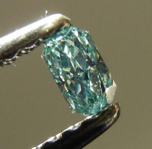 Blue Diamond Cat Pendant