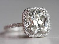 Halo diamond settings