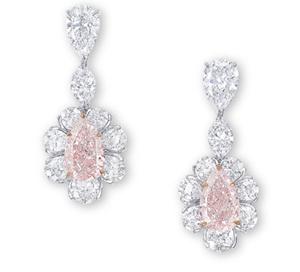 Pink Diamond Earrings Sold At Christie S For 2 Million In November 2017