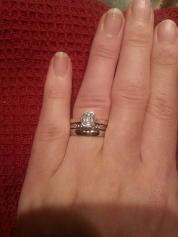 Plain Wedding Ring Sets