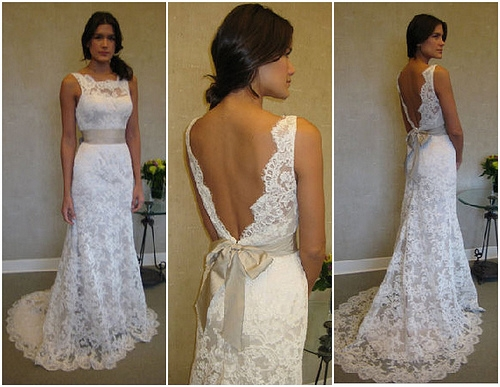 Wedding Dresses With No Back