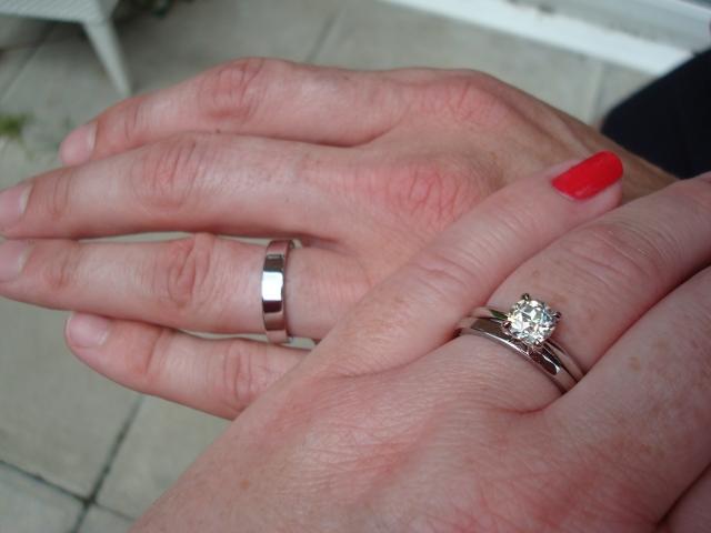 Tiffany Platinum Wedding Band