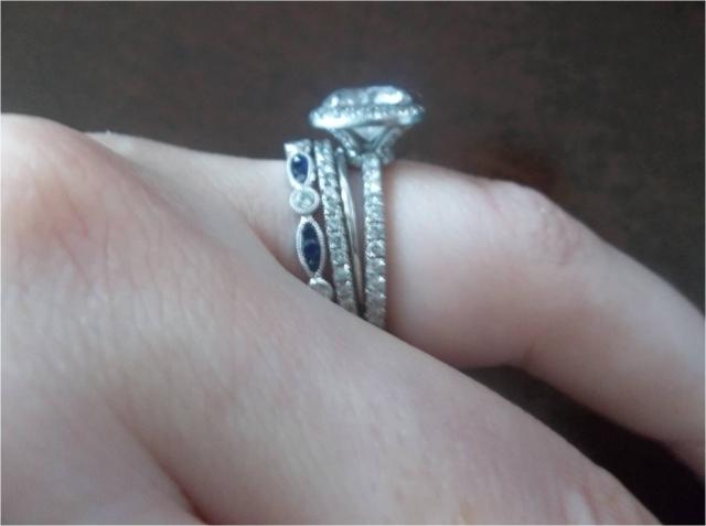 wedding ring spacer