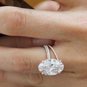 Wedding Ring Mounts 96 Lovely Marquise diamond ring horizontal