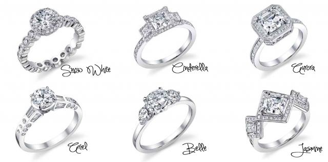 Trendy wedding rings in 2016 Sleeping beauty wedding ring