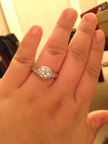 Engagement Ring For Short Fat Fingers Wedding Ideas