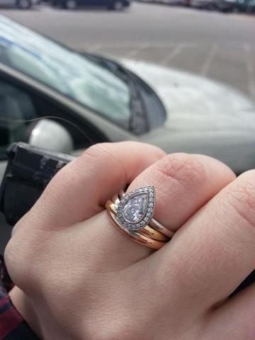 Cartier trinity ring wedding band Fashion wedding shop