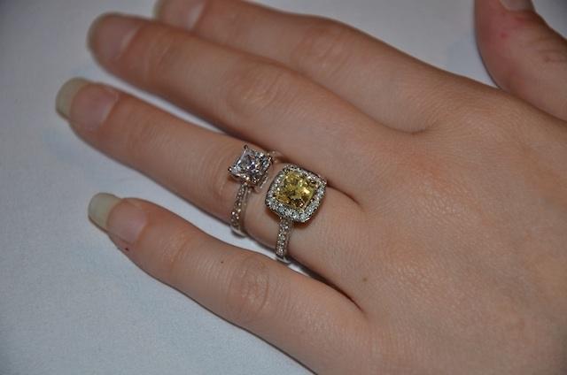 tiffany yellow engagement ring tiffany bangle silver