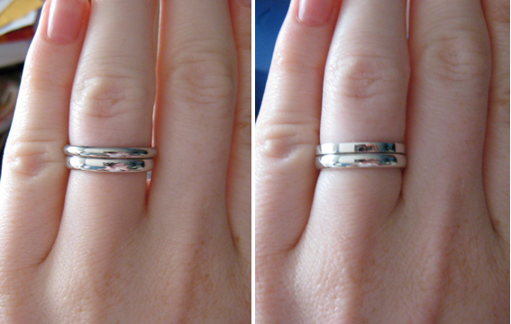 Plain Gold Wedding Bands Show Me The Bling Rings Earrings Jewelry