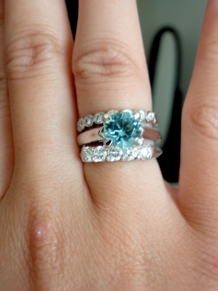 Show Me Your Wraps Mutliple Stacked Rings Show Me The