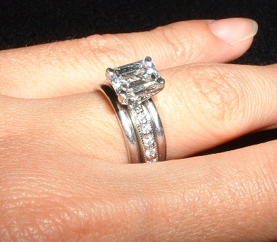 Show me your wedding ring sets Show Me the Bling 1950s wedding ring
