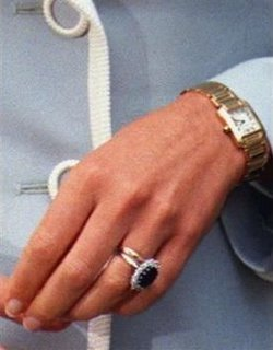wedding ring  Image Princess Diana Wedding Band