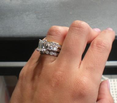 stacked wedding bands - Google Search | Jewelry ...