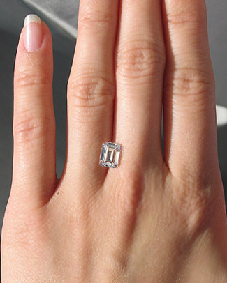 Emerald Cut Ring Ideas Please Rockytalky Diamond