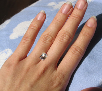 Emerald Cut Ring Ideas Please Rockytalky Diamond