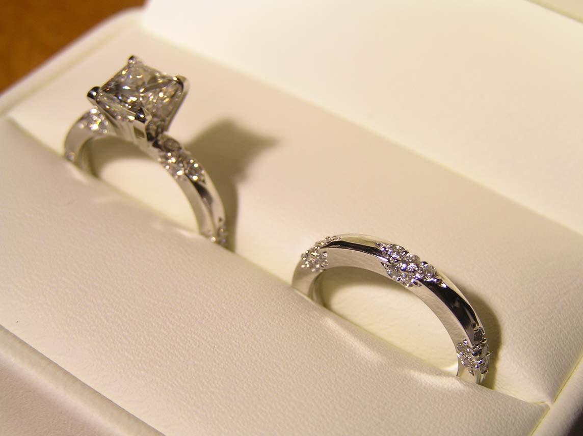 Michael B Wedding Ring Sets