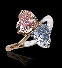 Wedding Rings With Pink Diamonds 24 Amazing Heart shaped engagement ring