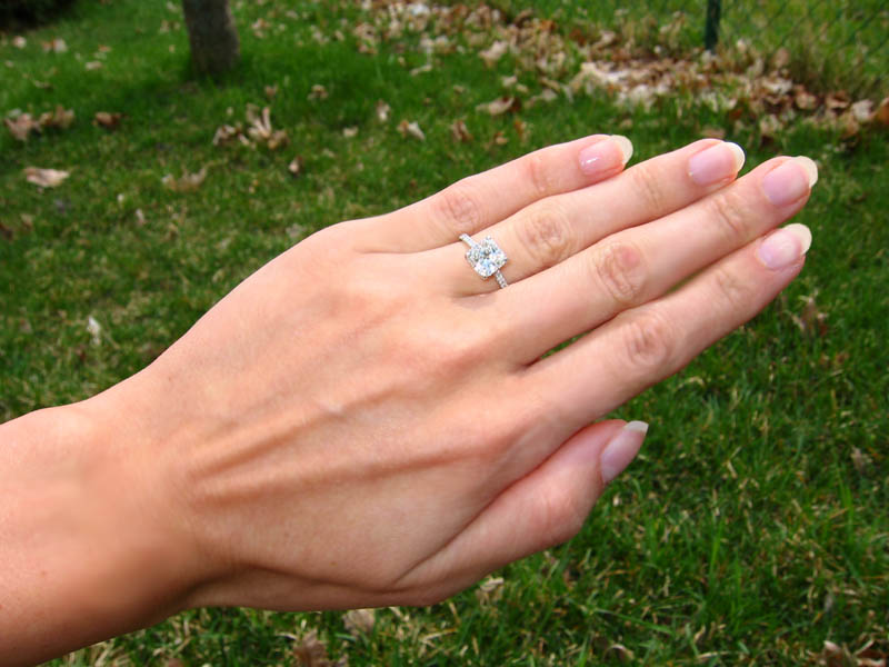 I Love My New Radiant Engagement Ring!!! : Show Me The