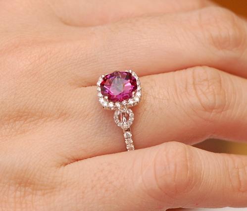 Raspberry Rhodolite Garnet Image