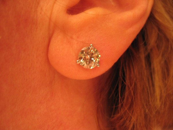 Show Me Your Diamond Studs Show Me The Bling Rings