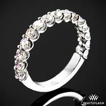0.75ctw Platinum Annette's U-Prong Three Quarter Diamond Wedding Ring | Whiteflash