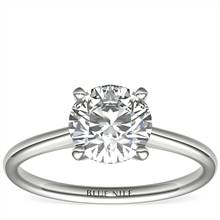 1-1/2 Carat Astor Petite Solitaire in Platinum (H/SI2) Ready-to-Ship | Blue Nile