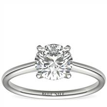 1-1/4 Carat Astor Petite Solitaire in Platinum (F/VS2) Ready-to-Ship | Blue Nile