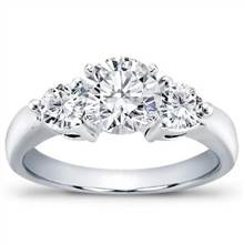 1/2 ct. tw. 3-Prong Diamond Engagement Setting | Adiamor