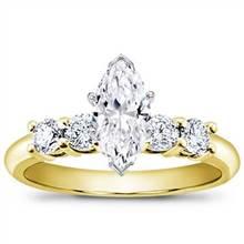 1/2 ct. tw. Four-Stone Engagement Setting | Adiamor