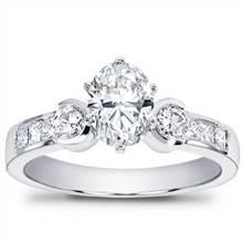 1/2 ct. tw. Princess-Cut and Round Diamond Setting   Adiamor