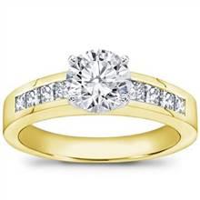1/2 ct. tw., Princess-Cut Engagement Setting   Adiamor