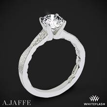 14k White Gold A. Jaffe ME2036Q Seasons of Love Diamond Engagement Ring | Whiteflash