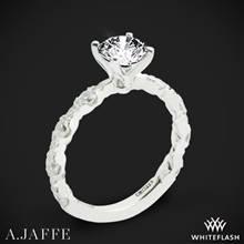 14k White Gold A. Jaffe ME2303Q Diamond Engagement Ring | Whiteflash