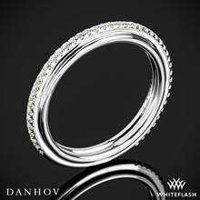 14k White Gold Danhov CB118-Q Classico Her Diamond Wedding Ring   Whiteflash