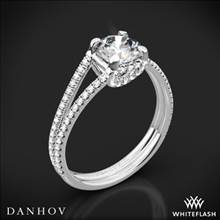 14k White Gold Danhov LE116 Per Lei Diamond Engagement Ring | Whiteflash