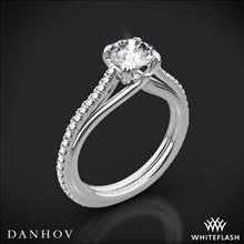 14k White Gold Danhov UE111 Unito Diamond Engagement Ring | Whiteflash