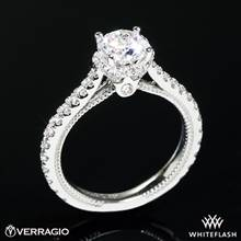 14k White Gold Verragio ENG-0460R Couture Diamond Engagement Ring | Whiteflash