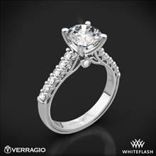 14k White Gold Verragio Renaissance 901R7 Diamond Engagement Ring | Whiteflash