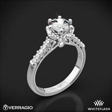 14k White Gold Verragio Renaissance 911RD7 Diamond Engagement Ring | Whiteflash