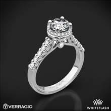 14k White Gold Verragio Renaissance 916RD7 Diamond Engagement Ring | Whiteflash
