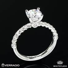 14k White Gold Verragio V-950-R2.0 Renaissance Diamond Engagement Ring | Whiteflash