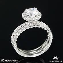 14k White Gold Verragio V-954 Renaissance Diamond Wedding Set | Whiteflash