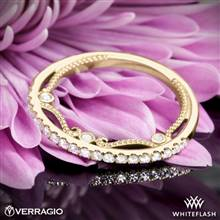 14k Yellow Gold Verragio INS-7069W Diamond Wedding Ring | Whiteflash