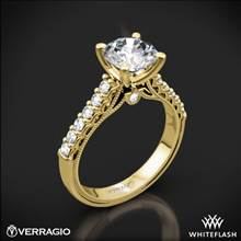 14k Yellow Gold Verragio Renaissance 901R7 Diamond Engagement Ring | Whiteflash