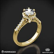 14k Yellow Gold Verragio Renaissance 911RD7 Diamond Engagement Ring | Whiteflash