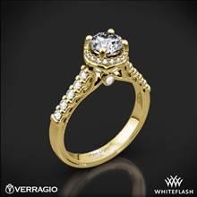 14k Yellow Gold Verragio Renaissance 916RD7 Diamond Engagement Ring | Whiteflash