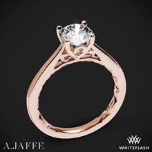 18k Rose Gold A. Jaffe ME1569Q Seasons of Love Solitaire Engagement Ring | Whiteflash