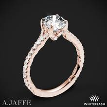 18k Rose Gold A. Jaffe ME2003QB Seasons of Love Diamond Engagement Ring | Whiteflash